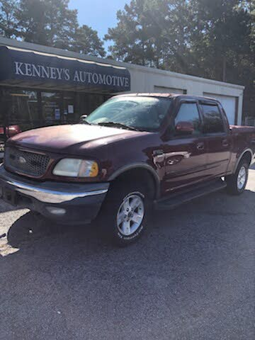 2003 Ford F-150 King Ranch Crew Cab 4WD SB