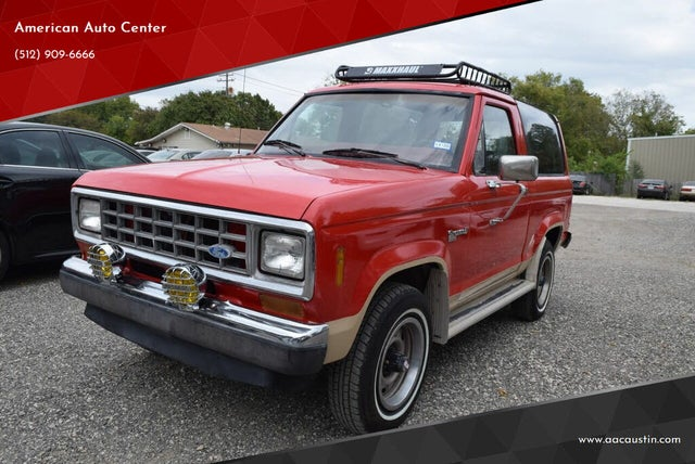 1987 Ford Bronco II XLT 4WD