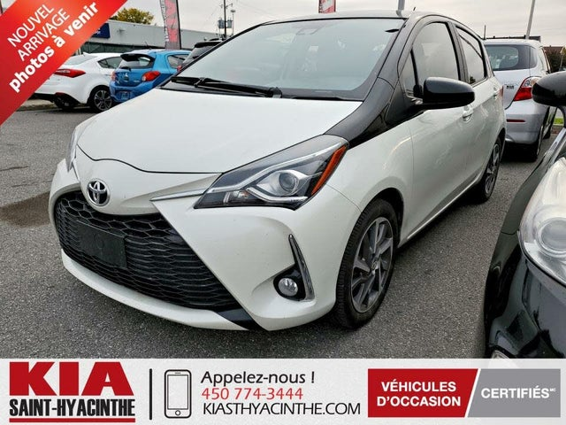 2019 Toyota Yaris SE 4-Door Hatchback FWD