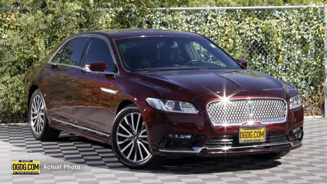 2017 Lincoln Continental Select FWD