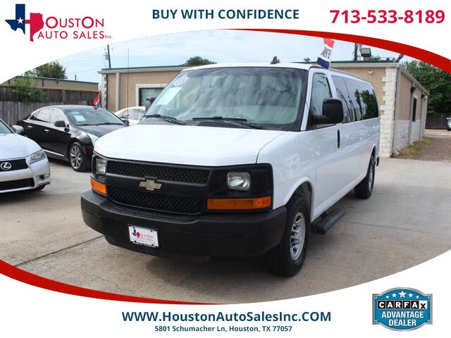 2016 Chevrolet Express 3500 1LS Extended RWD