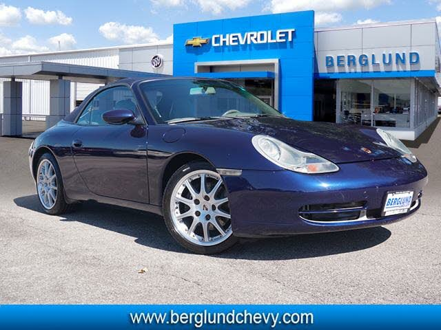 2001 Porsche 911 Carrera Convertible