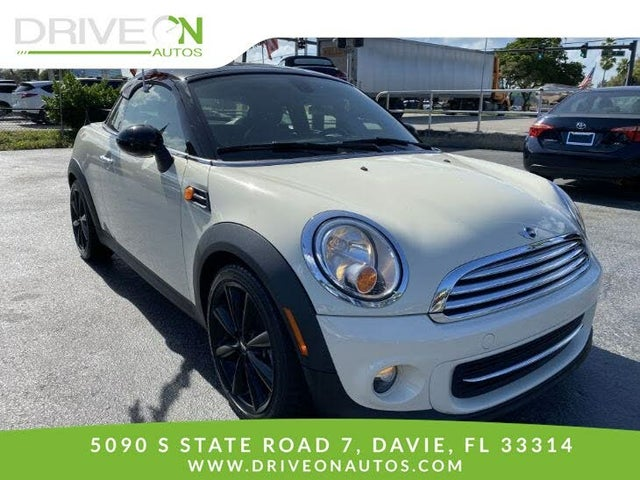 2015 MINI Cooper Coupe FWD