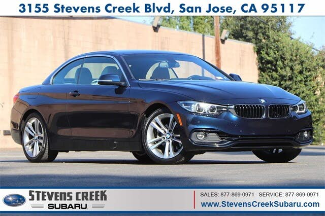 2018 BMW 4 Series 430i Convertible RWD
