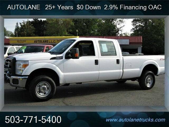 2013 Ford F-350 Super Duty XL Crew Cab 4WD
