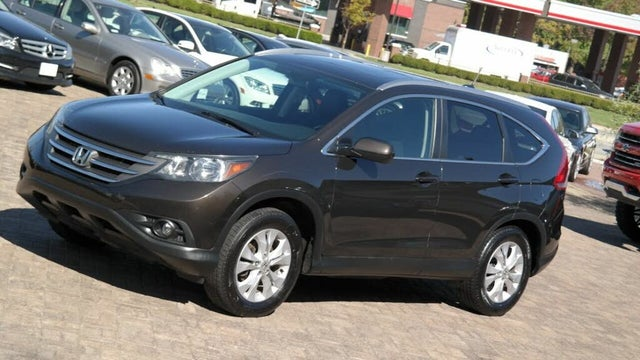 2014 Honda CR-V EX-L AWD with Navigation