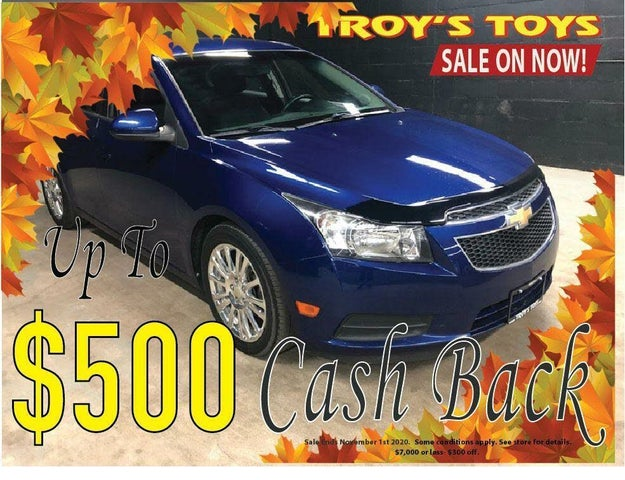 2012 Chevrolet Cruze Eco Sedan FWD