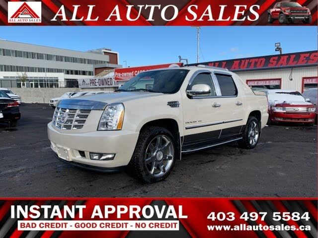 2012 Cadillac Escalade EXT Luxury 4WD