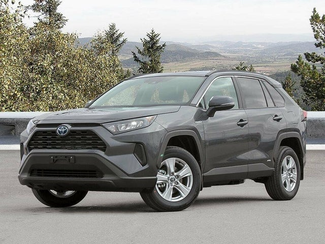 2021 toyota rav4 hybrid for sale in north vancouver, bc