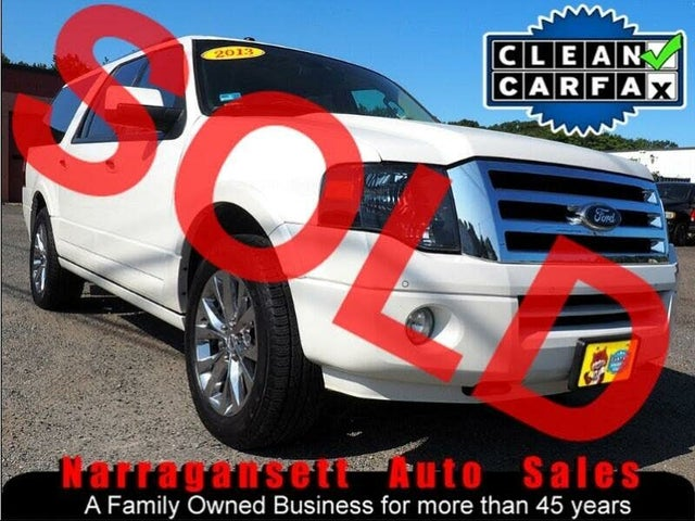 2013 Ford Expedition EL Limited 4WD