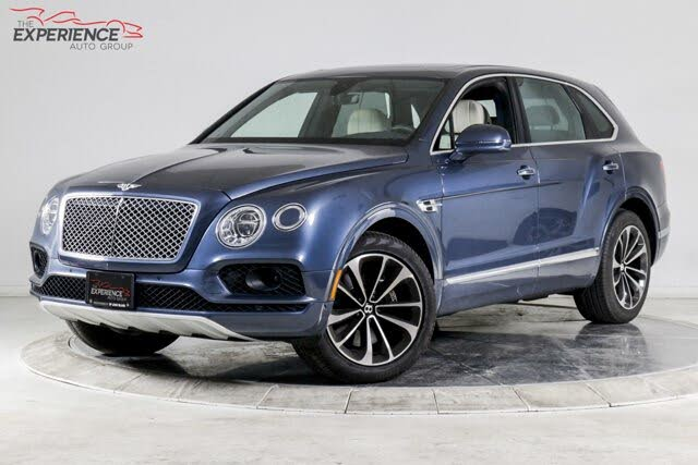 2018 Bentley Bentayga W12 Onyx Edition AWD