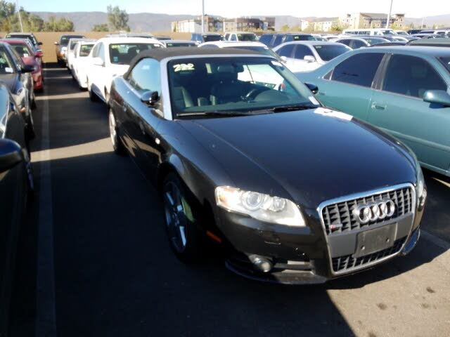 2008 Audi A4 2.0T Cabriolet FWD