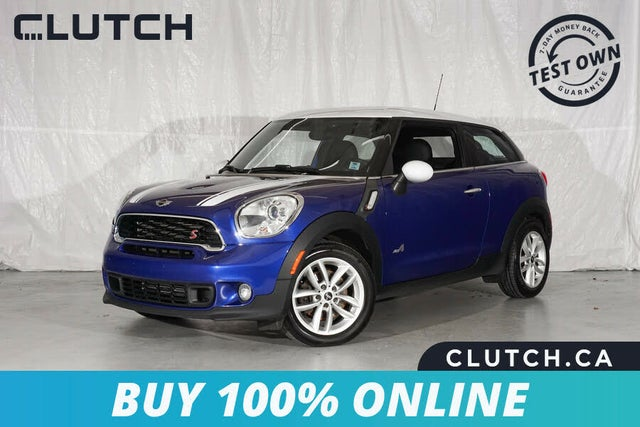 2016 MINI Cooper Paceman S ALL4 AWD