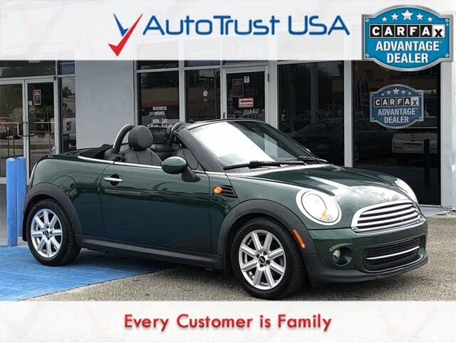 2014 MINI Roadster FWD
