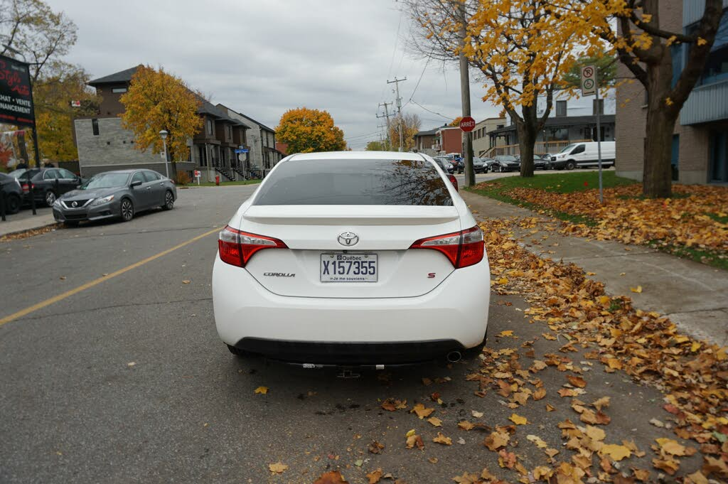 2014 Toyota Corolla S complet
