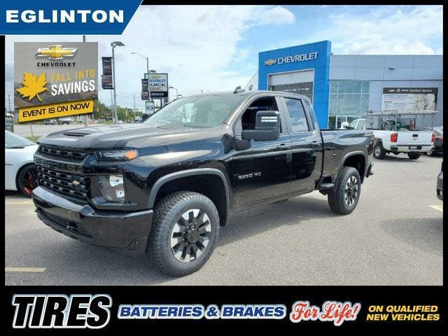 2020 Chevrolet Silverado 2500HD Custom Double Cab LB 4WD