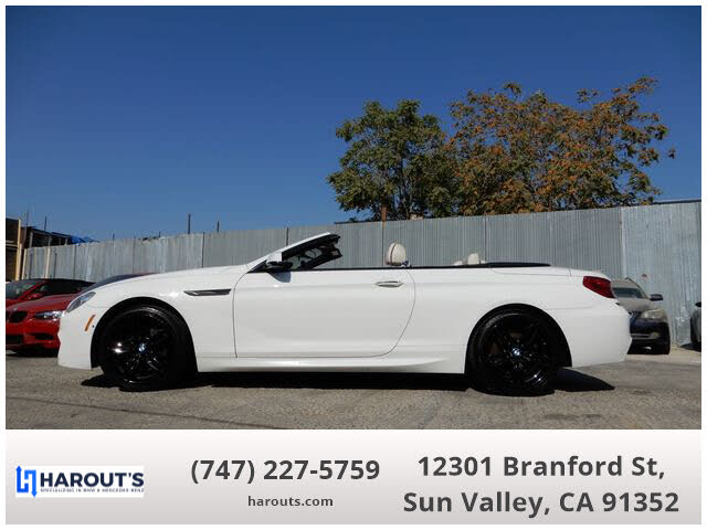 2013 BMW 6 Series 650i xDrive Convertible AWD