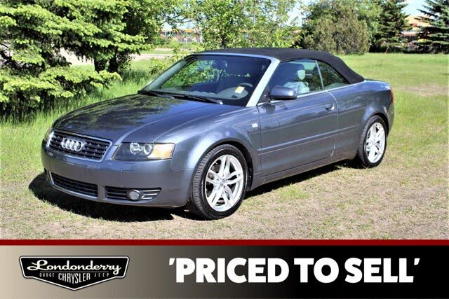 2004 Audi A4 1.8T Cabriolet FWD