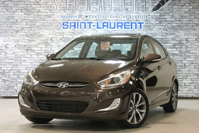 2016 Hyundai Accent GLS Sedan FWD