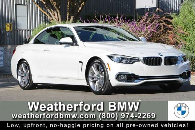 2018 BMW 4 Series 440i Convertible RWD