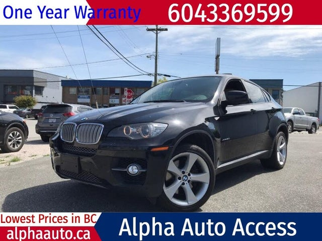 2010 BMW X6 xDrive50i AWD