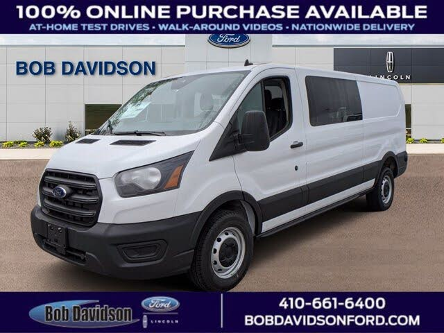 2020 Ford Transit Crew 150 Low Roof RWD with Sliding Passenger-Side Door
