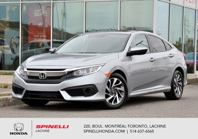 2017 Honda Civic EX with Honda Sensing