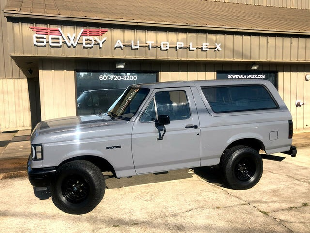 1990 Ford Bronco XLT 4WD