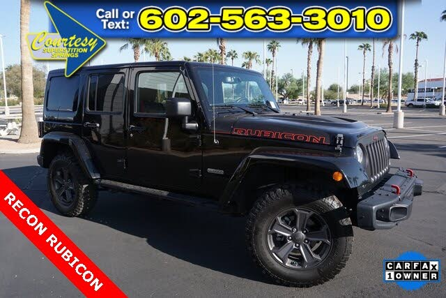 2017 Jeep Wrangler Unlimited Rubicon Recon 4WD