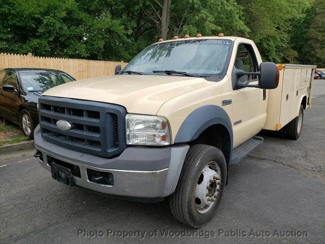 2006 Ford F-550 Super Duty Crew Cab 176 in DRW