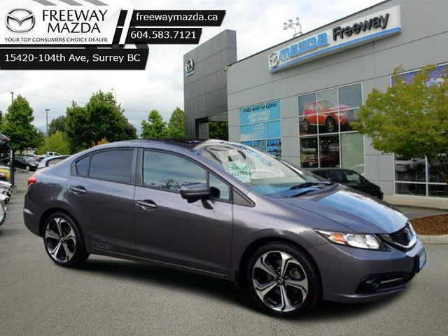2014 Honda Civic Si with Navigation