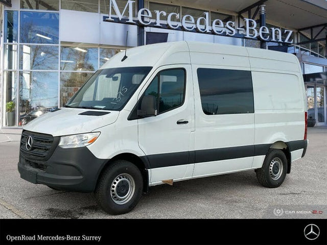 2019 Mercedes-Benz Sprinter 3500 144 V6 High Roof Crew Van RWD