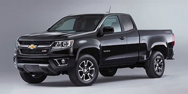 2018 Chevrolet Colorado Work Truck Extended Cab LB 4WD