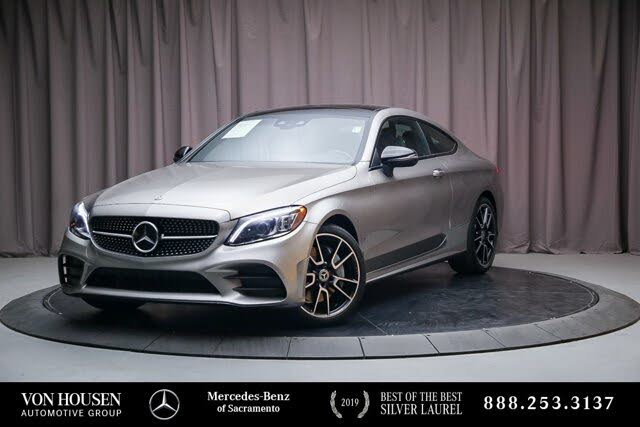 2019 Mercedes-Benz C-Class C 300 Coupe 4MATIC AWD
