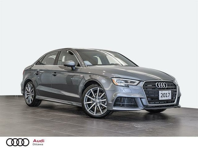 2017 Audi A3 2.0T quattro Technik Sedan AWD