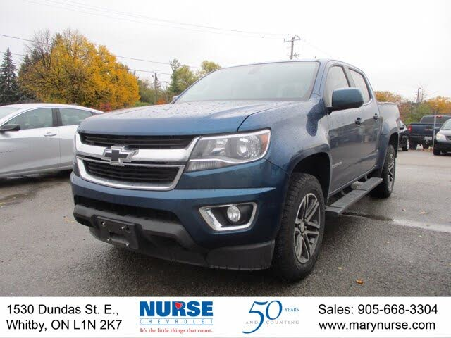 2019 Chevrolet Colorado LT Crew Cab 4WD