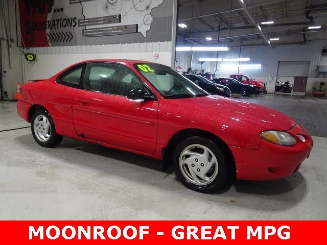 2002 Ford Escort 2 Dr ZX2 Coupe