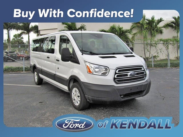 2019 Ford Transit Passenger 350 XLT Low Roof LWB RWD with 60/40 Passenger-Side Doors