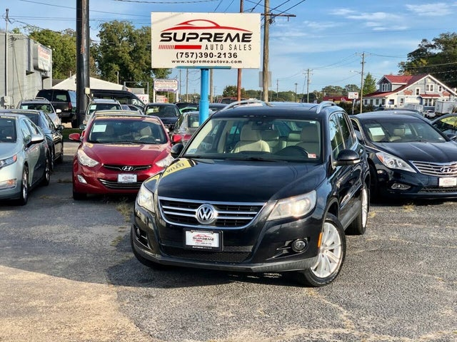 2009 Volkswagen Tiguan SEL AWD 4Motion