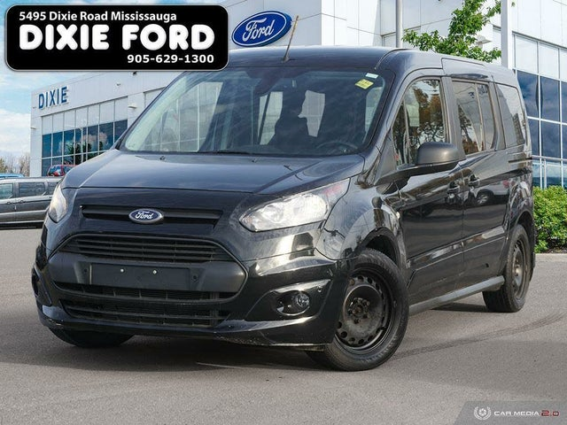 2015 Ford Transit Connect Wagon XLT LWB FWD with Rear Cargo Doors