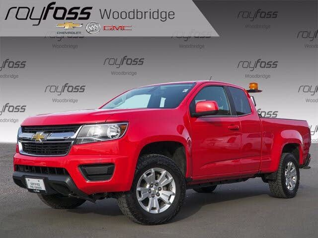 2019 Chevrolet Colorado LT Extended Cab LB 4WD