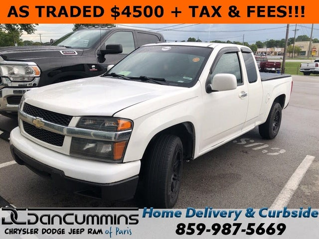 2011 Chevrolet Colorado Work Truck Extended Cab RWD