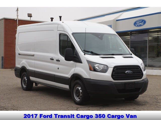 2017 Ford Transit Cargo 350 3dr LWB Medium Roof Cargo Van with Sliding Passenger Side Door