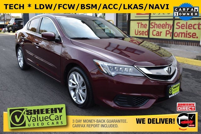 2016 Acura ILX FWD with Technology Plus Package
