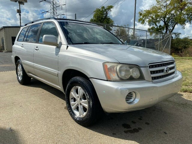 2002 Toyota Highlander Base V6