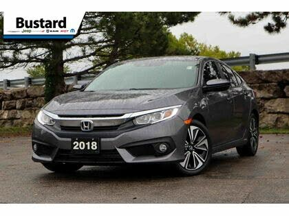 2018 Honda Civic EX-T with Honda Sensing