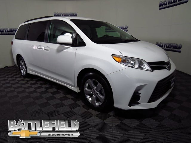 used 2020 toyota sienna le 8 passenger fwd for sale right now cargurus 2020 toyota sienna le 8 passenger fwd
