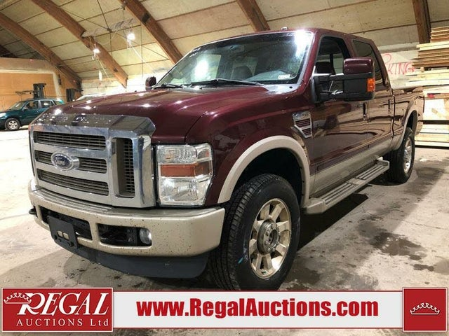 2009 Ford F-350 Super Duty King Ranch Crew Cab 4WD