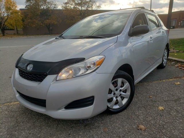 2011 Toyota Matrix S AWD