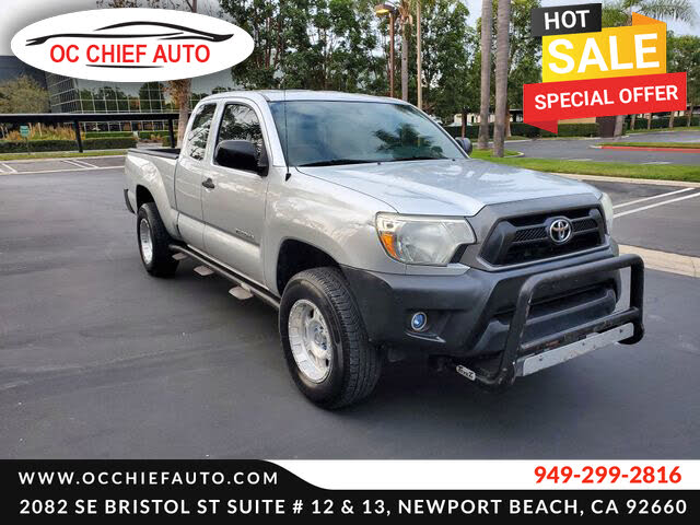 2014 Toyota Tacoma Pickup Truck Tailgate Lock  WORKS WITH YOUR IGNITION KEY